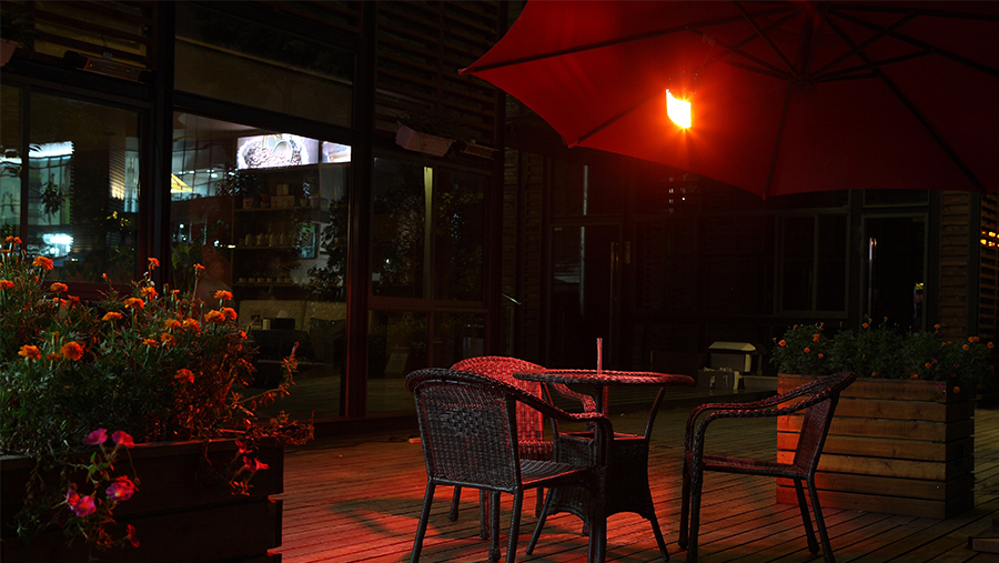 Liangdi Outdoor Heater For Parasol Heating